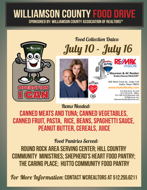 2015_Food_Drive_Flyer business card