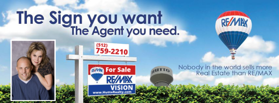 remax for sale banner hutto w pic