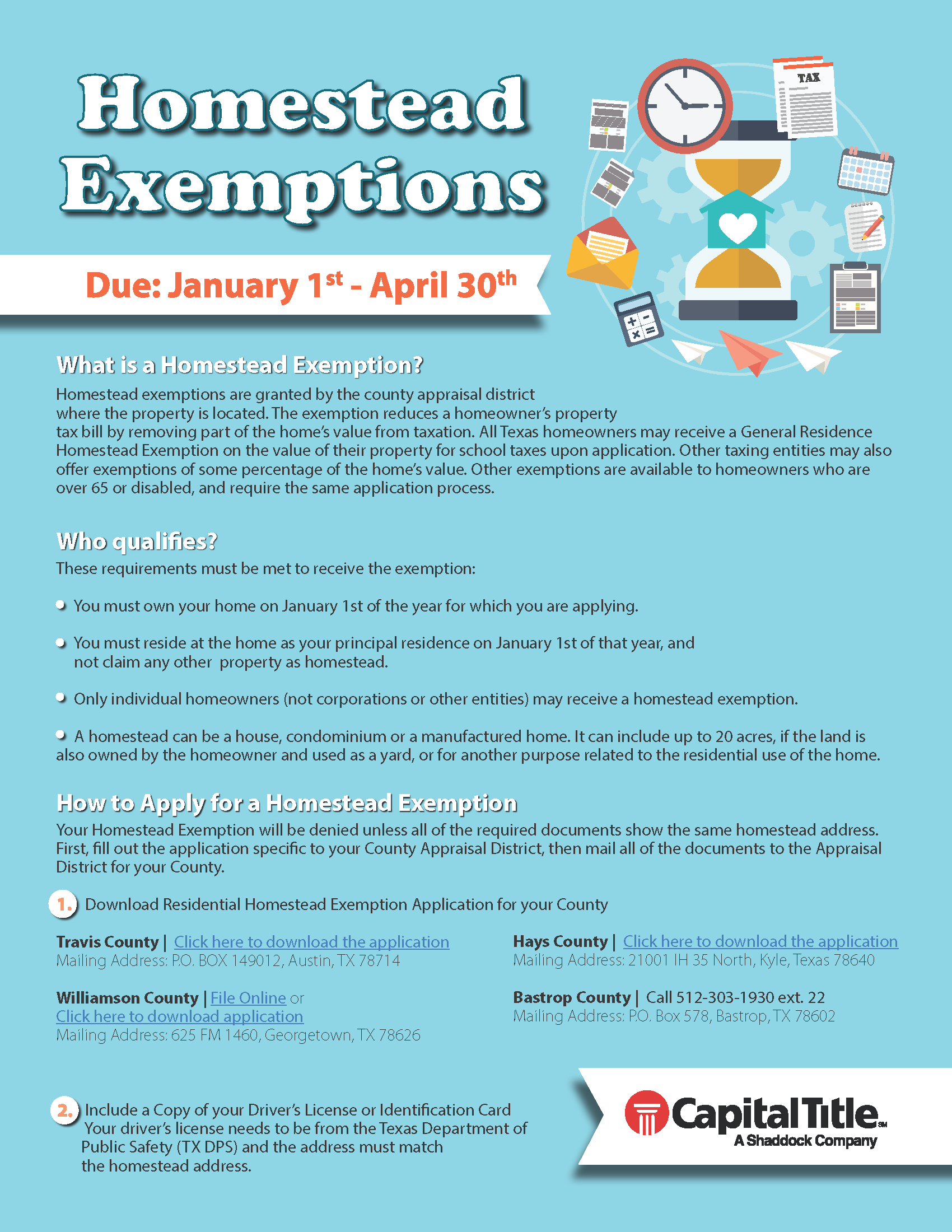 Homestead Exemptions